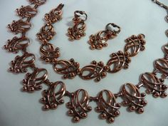 Copper necklace Matisse goodwill find for 0.79 :) now I need to find the bracelet & earrings to match :)