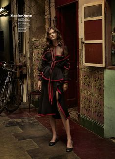 "Giedre Dukauskaite stars in ""Havana Days"" by Takay for Marie Claire US September 2015 [editorial]"