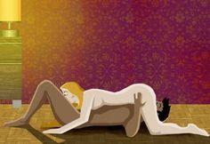 Le 69 Le 69 Le tête-bêche, que les deux chiffres 6 et 9 accolés symbolisent de manière très parlante, est sans doute la position qui véhicule le plus d'imaginaire, alors que ce n'est pas une position de pénétration, vaginale ou anale. Il consiste, pour un couple, à s'unir, la bouche de l'un contre le sexe de l'autre.