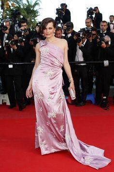 Milla Jovovich at the 2012 Cannes Film Festival