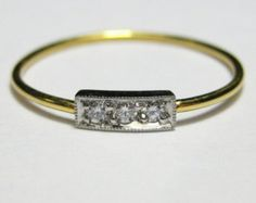 18K White Gold Svea by JewelerOnTheRoof on Etsy