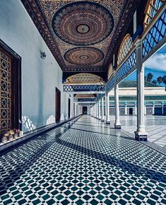 Bahia palace Marrakesh Morocco by soufianexcherif Visit Marrakech, Marrakech Morocco, India Architecture, Amazing Architecture, Beautiful Dream, Beautiful Places, Chefchaouen Morocco, Casablanca, Moroccan Design