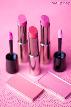 Sweet. Sassy. Sophisticated. No matter what mood you're in, there's a pink product to match! | Mary Kay