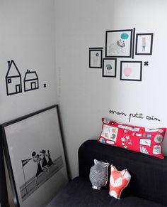 Washi Tape Kids room / cuarto de niños