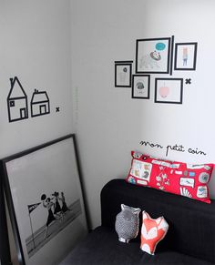 Washi Tape Kids room / cuarto de niños