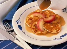 Golden Penny Pancakes - Recipes | All You Need is Cheese