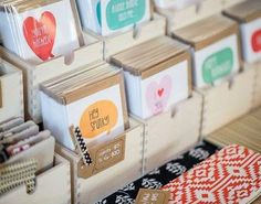 these greeting card sets are so cute Greeting Cards Display, Card Displays, Greeting Card Storage, Greeting Card Organizer, Greeting Card Holder, Postcard Display, Craft Show Ideas, Fall Craft Fairs, Market Stall Display