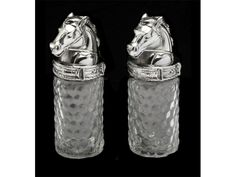 Arthur Court Western Horse Salt and Pepper Set