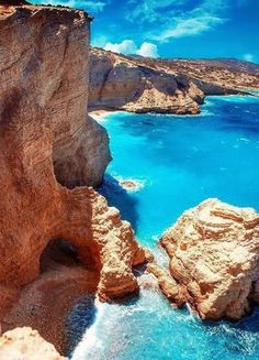 Turquoise Sea, Koufonisia Islands, Greece photo via south