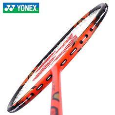 Yonex Badminton Racket VOLTRIC 1DG Orange Racquet String 3UG5 with Cover Stater #YONEX Yonex Badminton Racket, Rackets, Orange, Night, Cover, Black, Black People, Blankets