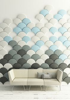 This is a really neat idea.  It would a cool way to fill a blank wall.