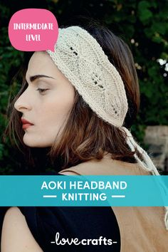 This super chic headband pattern is the perfect summer accessory to create those effortless free spirit vibes | Downloadable PDF at LoveCrafts.com