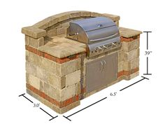Capri BBQ Islands & Outdoor Capri Barbecue Grills - System Pavers