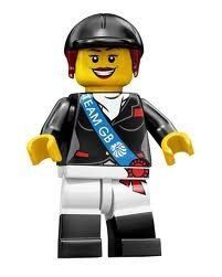LEGO Olympic Minifigures: Olympic Horse Rider by LEGO. $8.95. Year: 2012. Collect every gold-medal contender in the Team GB LEGO Minifigures series! Capture the bronze, silver and gold with this all-new, exciting team of 9 Team GB LEGO Minifigures, each with their own special accessories!