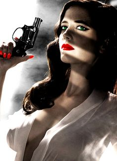 This gun is just for my protection. I did not shoot anyone......Eva Green