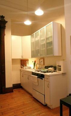 teeny IKEA kitchen