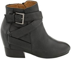 Great footwear to support any fashionable lifestyle! Comfort Made Easy at Gentle Souls Balfour Straps With Low Heel Low Heels, Comfortable Shoes, Footwear, Booty, Black, Fashion, Comfy Shoes, Moda, Swag