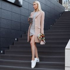 nice office outfits for ladies Classy Outfits, Chic Outfits, Trendy Outfits, Fall Outfits, Fashion Outfits, Happy Hour Outfit, Style Feminin, Look Blazer, Blazer Dress