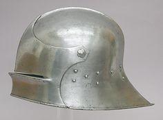 Sallet, Hans Blarer the Younger, 1470-85, Swiss, steel.