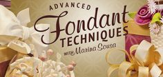 Learn to handle fondant like a pro in the online Craftsy class Advanced Fondant Techniques with cake-decorating celebrity Marina Sousa for just $24.99 during the Craftsy Holiday Sale! Marina will teach you to to handle, fold, and sculpt fondant into stunning bows, flowers, candles, and more. Sign up for unlimited lifetime access and Craftsy's 100% money-back guarantee! Click: http://www.craftsy.com/ext/20121224_Pin_1