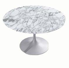 Tulp tafel Eero Saarinen in marmer