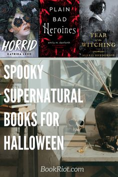 10 of the Best Supernatural Books For Halloween | Book Riot