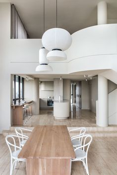 CJH Studio ditched gaudy fixtures to form the calming interiors of Penthouse M in the city of Gold Coast, Australia. Interior Desing, Interior Architecture, Interior Lighting, Glass Brick, Stainless Steel Oven, Deco Addict, Studio Kitchen, Kitchen Design, Nordic Design