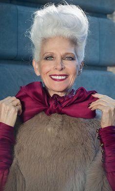 Nancy Ozelli tall, elegant and graceful