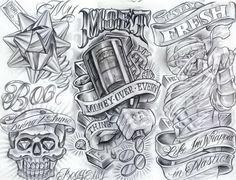chicano-art-flash-dragon-tattoo-hamburg-5405429.jpg (1048×803)