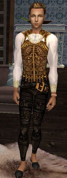 Mod The Sims - Balthier Final Fantasy XII - OUTFIT Final Fantasy Xii, Finals, Samurai, Sims, Halloween, Outfits, Suits, Mantle, Final Exams