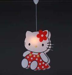 Çocuk Aydınlatma Hello Kitty Lamba