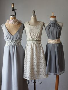 mix  bridesmaid dresses  /bridesmaids dresses  / dresses /Fairy / Dreamy / Bridesmaid / bridal party / wedding / Bohemian Wedding Dress