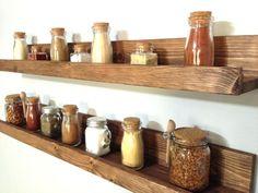wall mount spice rack s diy with jars amazon