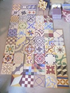 Newly Handmade Encaustic Tiles