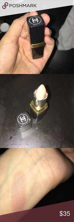 Chanel Lip stick Beautiful nude shimmer ! (27 Baby gold) never worn Chanel Makeup Lipstick