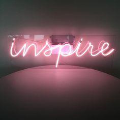 "Neon ""Inspire"" | Storehouse Home Decor"