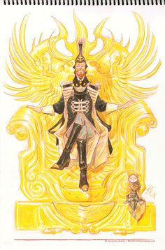 Dune | The Emperor of the Known Universe by Tom Fowler