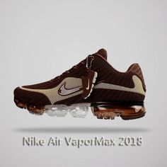 Nike Air Vapormax 2018 Men Running Shoes Brown Beige by Melena Marcos bc2d65e194f