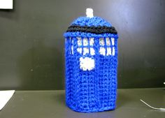 How to crochet a tardis, part 2, Dr. Who