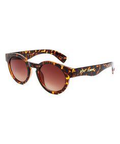 Another great find on #zulily! Tortoise Ice Pop Round Sunglasses #zulilyfinds