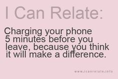 I so do this and for whatever reason I think it will make a difference! lol