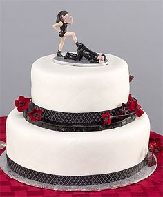 Getting divorced?? You will NOT find another cake topper for your divorce cake like this one!