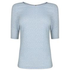 Jamie Top Description: Darling Jamie top in a jacquard print. This short sleeve top features zip detailing on the reverse. Size selection: British sizing (Standard sizing)Fits true to size, take your normal sizeCut with a regular fit61% polyester, 31% cotton, 1% elastaneMachine washable SKY BLUE 10... http://qualityclothing.me.uk/jamie-top-12/