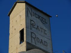 An old Nickel Plate Road coaling tower in Frankfort, IN.
