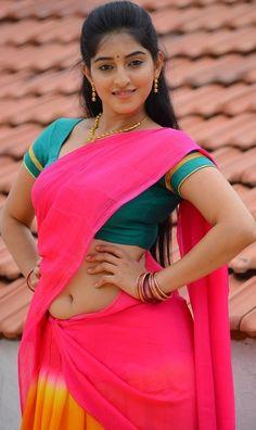 Beautiful Girl Indian, Most Beautiful Indian Actress, Beautiful Saree, Beautiful Actresses, Beautiful Women, Beautiful People, Dehati Girl Photo, Red Lehenga, Lehenga Choli
