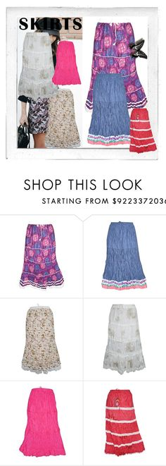 """""""LONG SKIRTS FOR WOMEN CASUAL WEAR"""" by lavanyas-trendzs ❤ liked on Polyvore featuring Polaroid, LongSkirts, skirts, womenfashion, casualwear and indiatrendzs"""