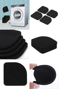 [Visit to Buy] 4 pcs NEW  Washing Machine Anti-shock Pad Mute Cotton Slip Suit For Table Leg Pad Shake Proof  VBU79 P50 #Advertisement