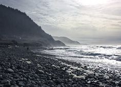 Shot into the glare... Oregon Coast Cascadia.