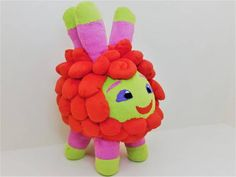 Otis plush from Abby Hatcher Crochet Bunny, Daughter Love, Party Time, Craft Supplies, Dinosaur Stuffed Animal, Handmade Items, Plush, Toys, Awesome