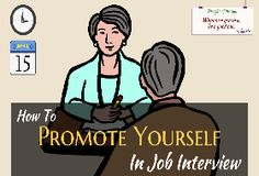 How to Promote Yourself in Job Interview- Infographic | JobCluster.com Blog